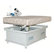 Nähmaschine mit Matratzenbandkante