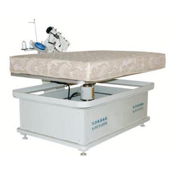 Mattress tape edge sewing machine