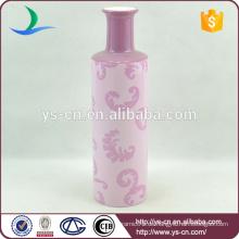 YSv-29 rosa glatte Keramik Vase