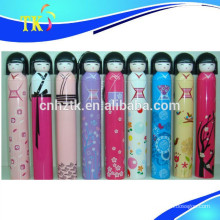 2018 new design gift umbrella/Popular Japanese doll umbrella
