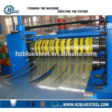 Hot Selling High Speed Slitting And Rewinding Line for Metal Coil Sheet , Coil Sheet Sliver Length Cutting Machine