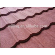 Colored Stone Coated Galvalume Panel