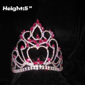 Venta al por mayor Crystal Pageant Crowns With Comfort Band