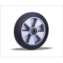 China Wholesale Custom Good Quality Solid Rubber Wheel