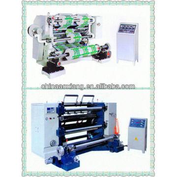 Máquina de corte longitudinal y rebobinado vertical serie LFQ-A