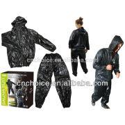 2015 best sale amason pvc Sauna Suit