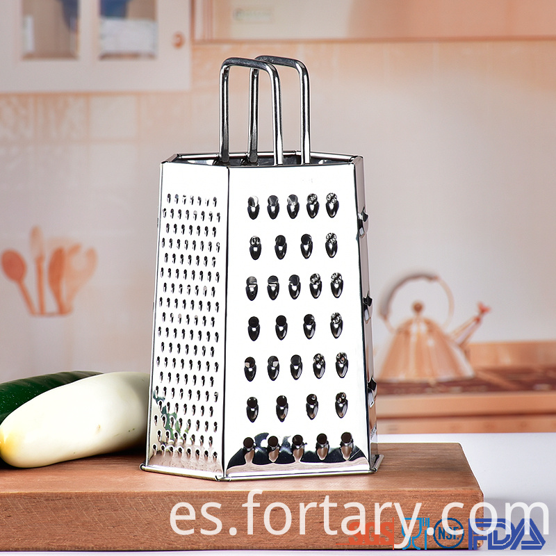 Premium Box Grater for Kitchen Food Vegetable Cheese