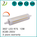 Led Slim R7s Led Lamp 10W 118mm