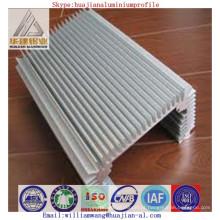 China fez dissipador de calor perfil extrudado de alumínio