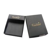 Tapa de la caja de regalo de papel rígida de encargo para las carpetas