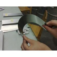 Folha de molibdênio Shinning brilhante / Moly folha para equipamento de vácuo