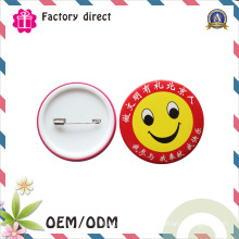 Wholesale Custom 58mm Cheap Round Metal Pin Button Badge