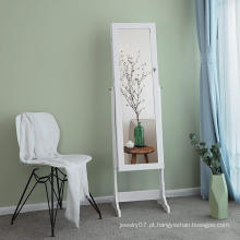 Simple Apartment Bedroom Mirror Dressing Table Can Storing Stud earrings necklace, etc.