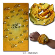 Multifunktionales nahtloses gestricktes elastisches magisches Bandana-Armband (YKY1006-9)