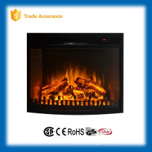 110-120V infrared insert electric fireplace heater with fence