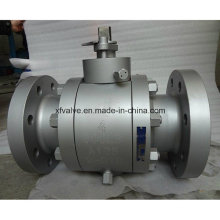 Válvula esférica de flange em aço forjado