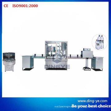 Linha de produção da máquina de lavagem, de enchimento e de tampamento da garrafa