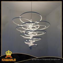 Luz de interior moderna del colgante del acero de carbón del ABS (2124S)
