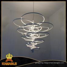 Modern ABS Carbon Steel Pendant Indoor Light (2124S)