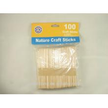 China Manufacturer Craft Sticks Flat I ce Cream Wooden Crafts Sticks