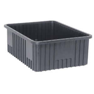Hollow plate anti-static turnover box
