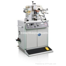 Special shape bottle cap hot stamping machine