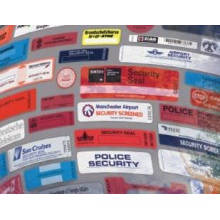 Paper Security Logo Label Sticker for Custom