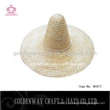 Соломенная шляпа cowboy sombrero для взрослых
