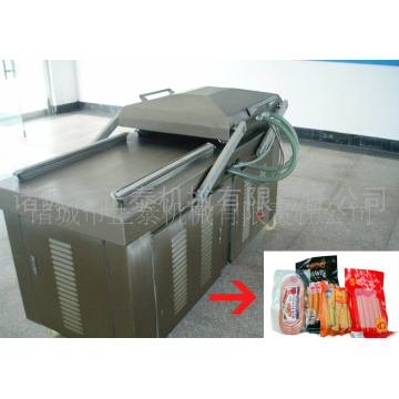 Sausage Double Chamber Vacuum packer Machine
