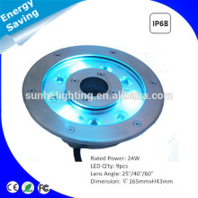 top quality IP68 waterproof low voltage LED swimming pool light energy saving lighting