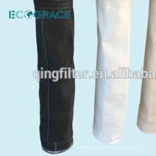 1 metro de longitud de tela de recogida de polvo de fibra de vidrio de filtración de calcetines