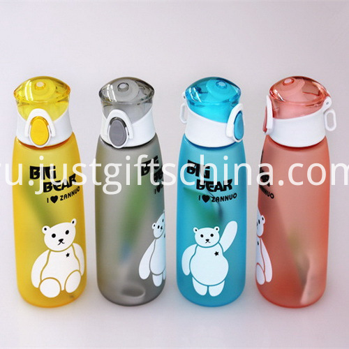 Promotional Food Grade Printed Cartoon Kids Cup with String1