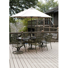 WPC Outdoor Decking / Solid WPC Decking / WPC Laminat Bodenbelag