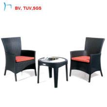Table basse en aluminium avec des meubles de jardin de patio de chaise (2107-AC + 379E)