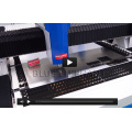 Cortadora del laser de la fibra de la cnc de la placa del aluminio y del acero de 1530 1-12m m con una calidad más alta
