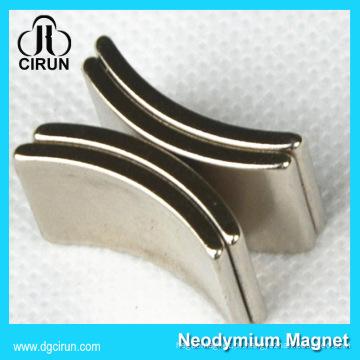 Gerador feito sob encomenda do motor do ímã do neodímio da forma do arco / neodímio do ímã