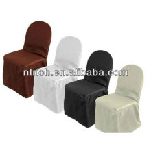 100%polyester wedding chair cover, machine washable chair cover