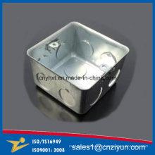 Boîte en acier galvanisée faite sur commande