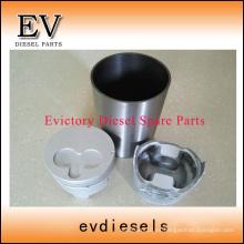 ISUZU piezas del motor pistón 3LB1 anillo de pistón