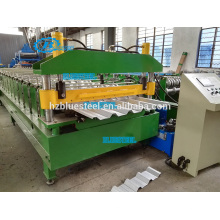 Steel Profile Roll Forming Machine , Metal Sheet Cold Roll Forming Machine Price