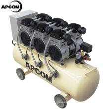 APCOM 3 hp 50100 150 liter air compressor 200 liter compresseur 100 litres EX1100*3-120 3.3kw Mute Oil Free Air Compressor