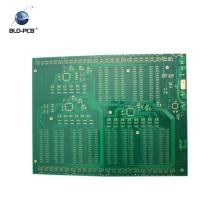 Tarjeta de prueba del circuito electrónico de 2 capas
