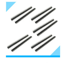 40 Pin 2.54mm Pitch Double Row Pin Headers
