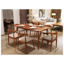 wooden dining table for dining room furniture