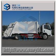 Camión de basura 8 M3 4X2 Camión de basura Isuzu