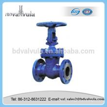 Válvula de compuerta DIN válvula de compuerta de acero carbono pn16