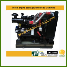 Powered by Cummins diesel industrial engine package 6CTAA8.3-C215 160kw/215hp