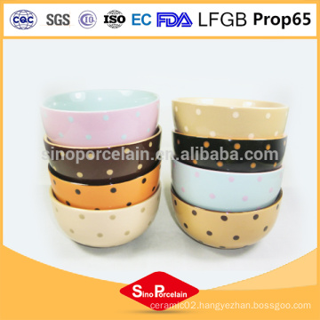 Wholesale customized cheap cheap salad bowls, ceramic soup bow