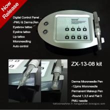 Lastest Design Intelligent LCD alimentation tatouage Kit (ZX13-08)