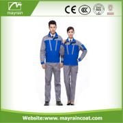 Polyester imperméable costume bleu vêtements de travail
